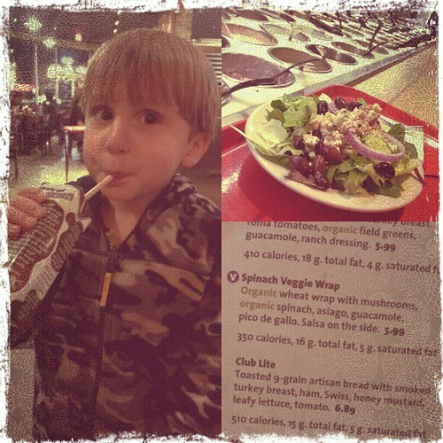 Jason's Deli for organic healthy dinner... #mamavation