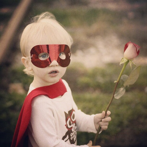 Happy #Valentine's Day from your friendly Superhero ♥
