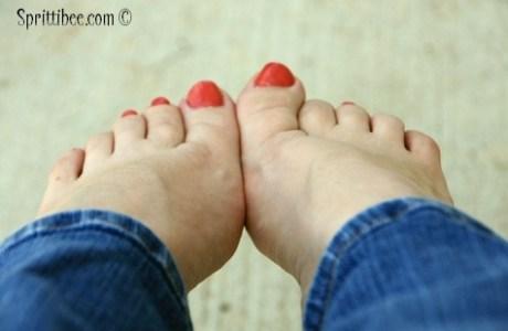 Bless Your Feet (4 part series) – Part 1