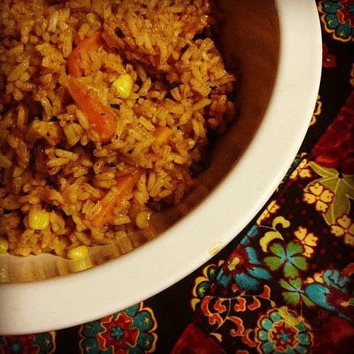 Voila! #spanishrice #mexicanfood #delicious