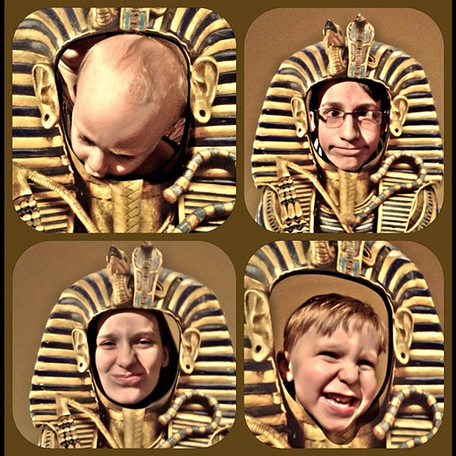 My 4 #egyptmania #kingtut