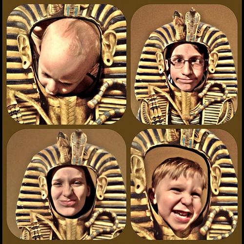 My 4 #egyptmania #kingtut