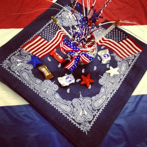 Family Reunion Decor - a family of Czechs who made a new life and assimilated. That's the true American way. ❤