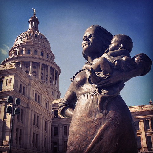 Taking a #stand4life ... Protecting the smallest Texans. #hb2 #prolife