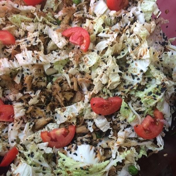 Asian Salad Close-up