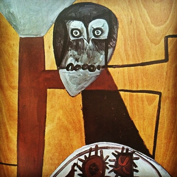 """Picasso's """"Owl on a Chair and Sea Urchins"""""""