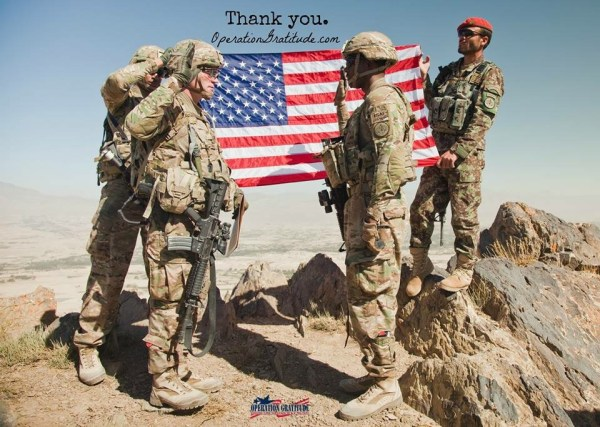 Thank You to our Military