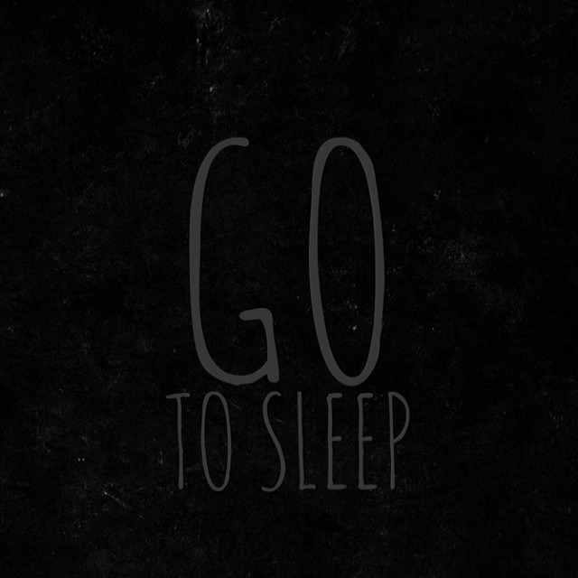 Go To Sleep via @sprittibee