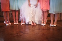 Barefoot at Wedding Reception