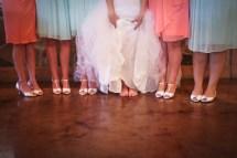 Barefoot at Wedding Reception