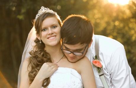 Tara and Tyler Longview Texas Wedding at Miss Mary's Place