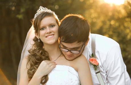 Tara and Tyler Longview Texas Wedding at Miss Mary's Place