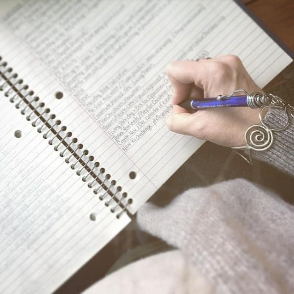 Assignment List on Spiral via @sprittibee