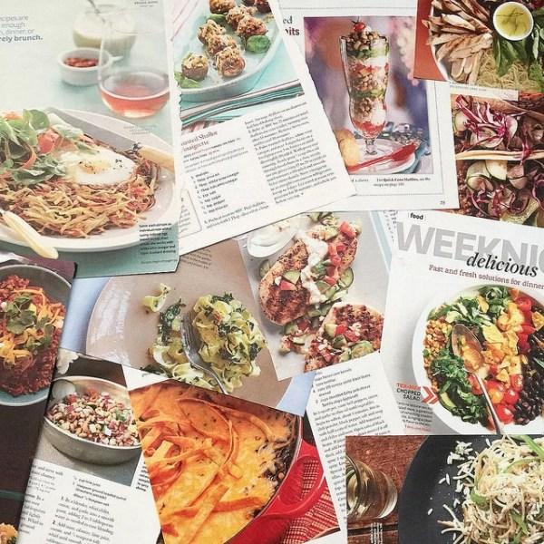Magazine Recipe Hoarding