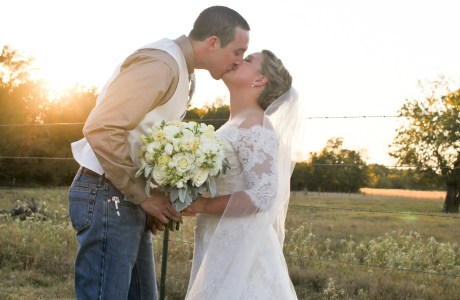 Emily and Brandt's Rustic Texas Country Wedding in College Station