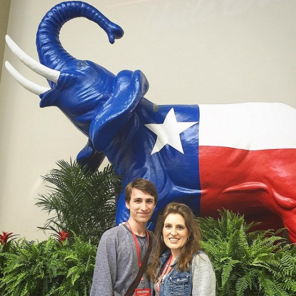 Delegates at the GOP Texas State Convention via @sprittibee