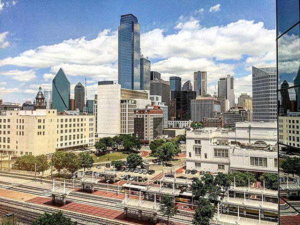 Dallas from the Hyatt Regency
