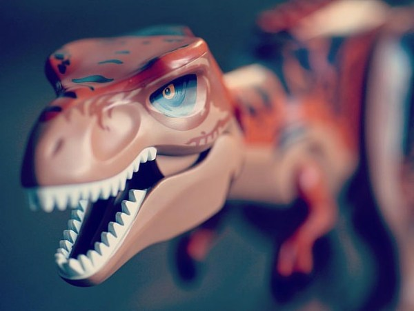 Lego Dinosaur by @sprittibee
