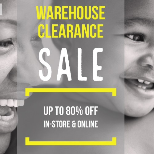 Warehouse Clearance SALE 2017