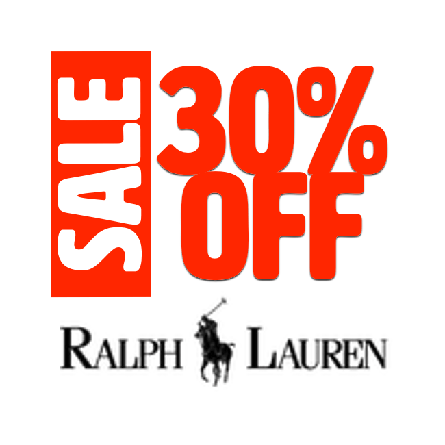 30%OFF - RL Sale