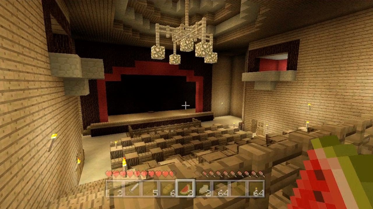 Minecraft Completed Theater 41