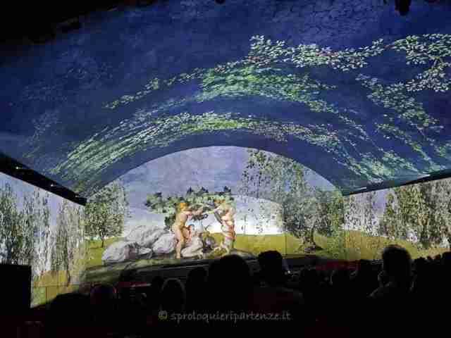 Giudizio Universale Roma Auditorium spettacolo