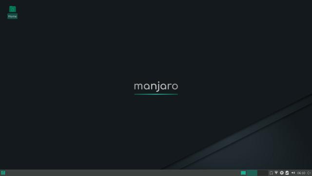 Manjaro Linux Desktop View