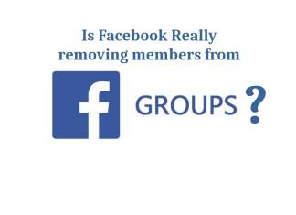 Facebook groups losing members