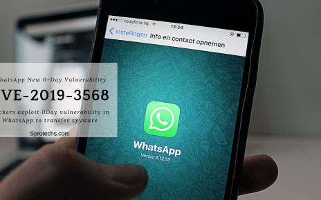 Hackers exploit 0Day vulnerability in WhatsApp to transfer spyware   CVE-2019-3568