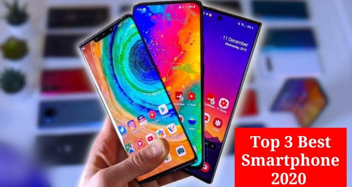 Top 3 best smartphones