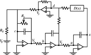 Precision Measurements of a Simple Chaotic Circuit