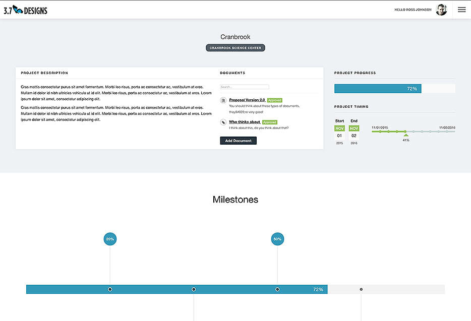 project-panorama-dashboard-view