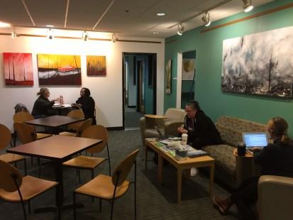 Work Spaces - Café