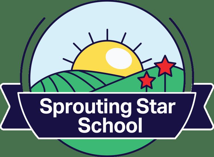 sprouting star school pflugerville texas preschool logo