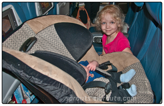 car seat vs  infant in lap  cost vs  worth a double take on the flyebaby hammock   sprouts en route  rh   sproutsenroute