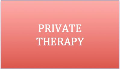 Private Therapy services