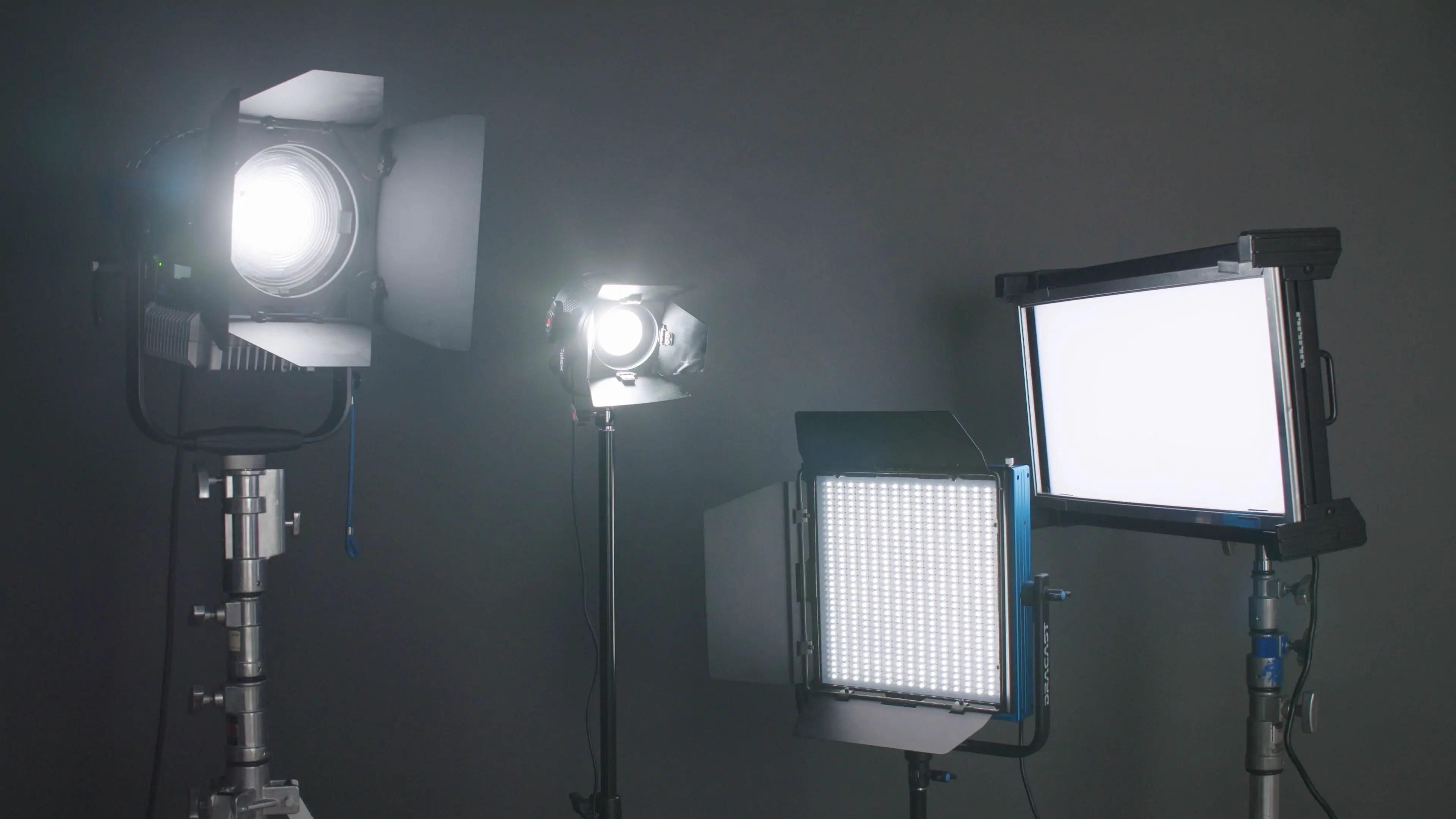classic interview lighting setup