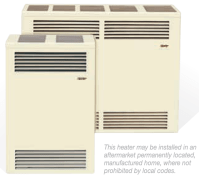 The Cozy Direct Vent Wall Furnace