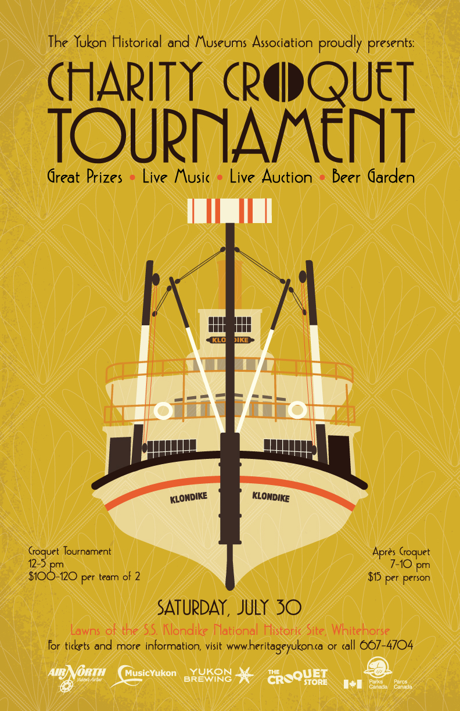 Croquet Tournament poster