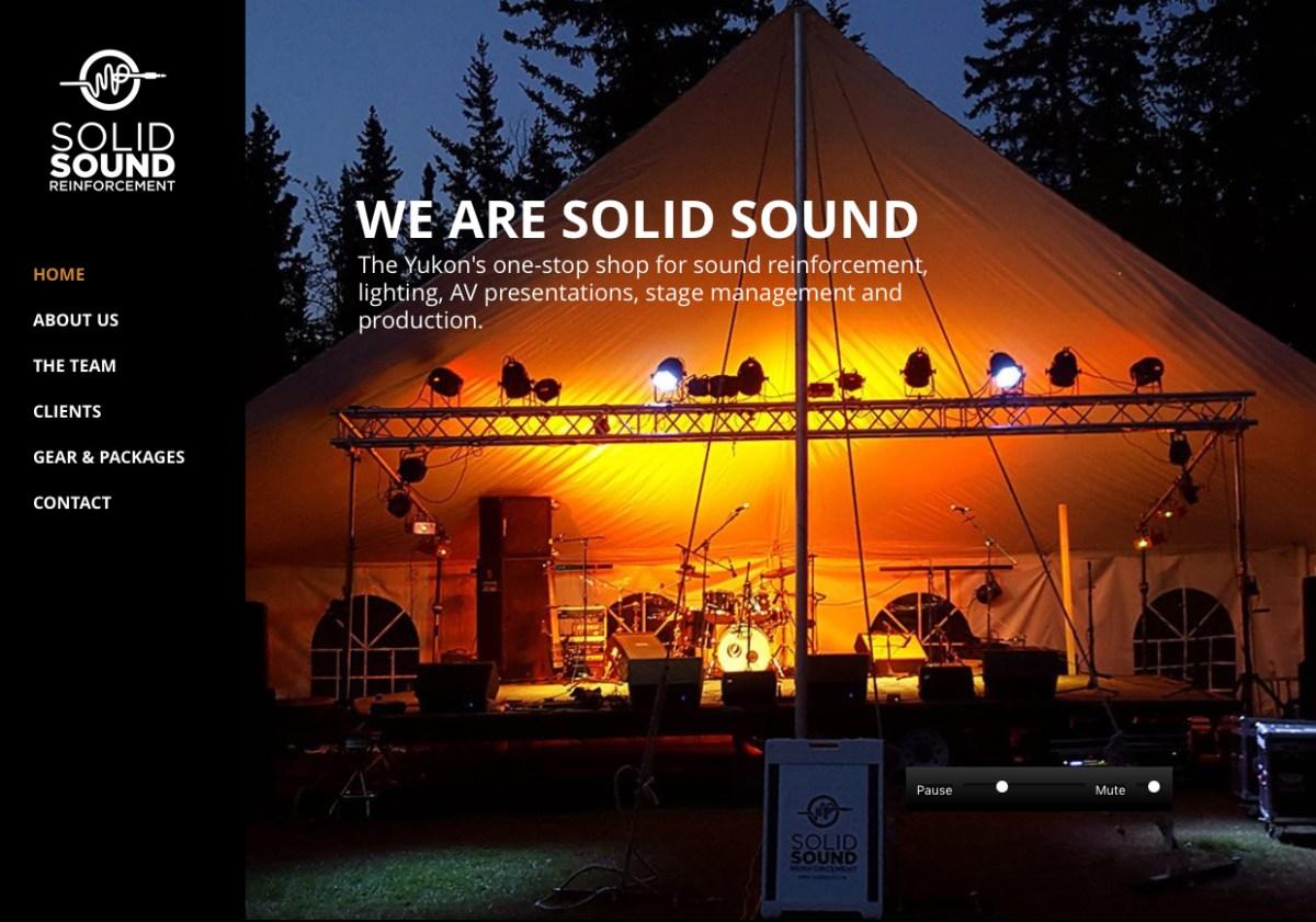 Solid Sound website