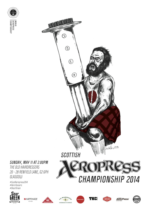 Look At All These Incredible AeroPress Competition Posters
