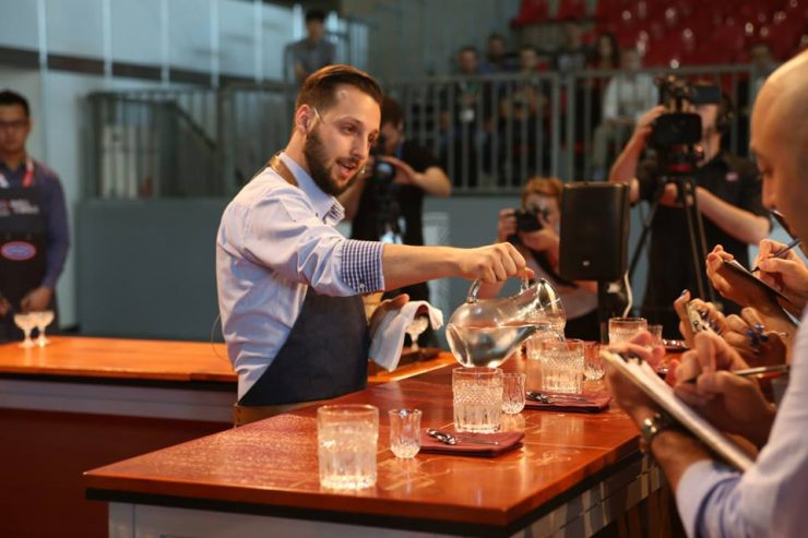 Greek Barista Champion Christos Loukakis