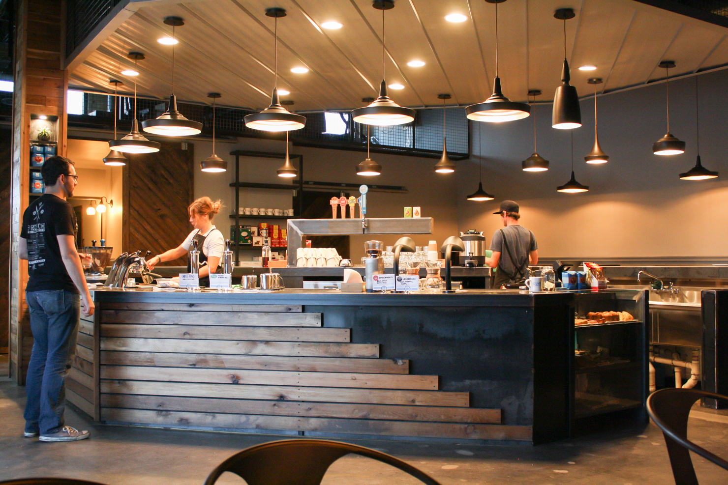 cafe themed kitchen decor cabinets nashville tn go inside cuvee coffee's state of the art austin