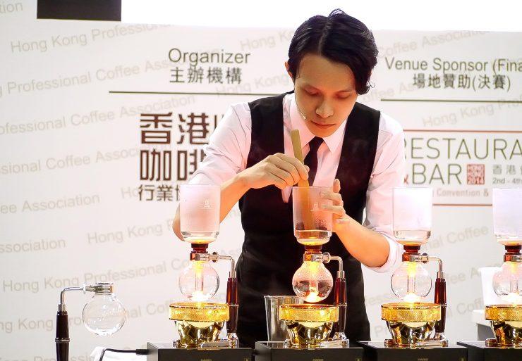 Hong Kong Coffee Championships-2014HKsiphonist
