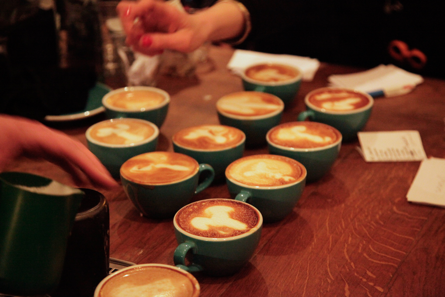 There Was A Penis Latte Art Contest In Paris Sprudge