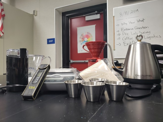 coffee in the classroom