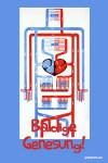 Lustige Genesungskarten Blutkreislauf