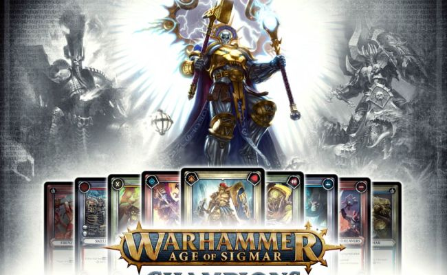 Warhammer Age Of Sigmar Champions Card Game Out Saturday