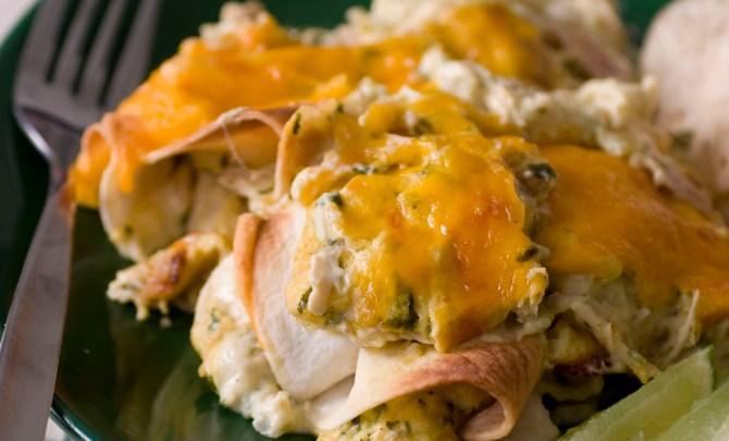chicken-sour-cream-enchiladas