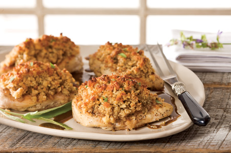 Chicken with Maple Stuffing